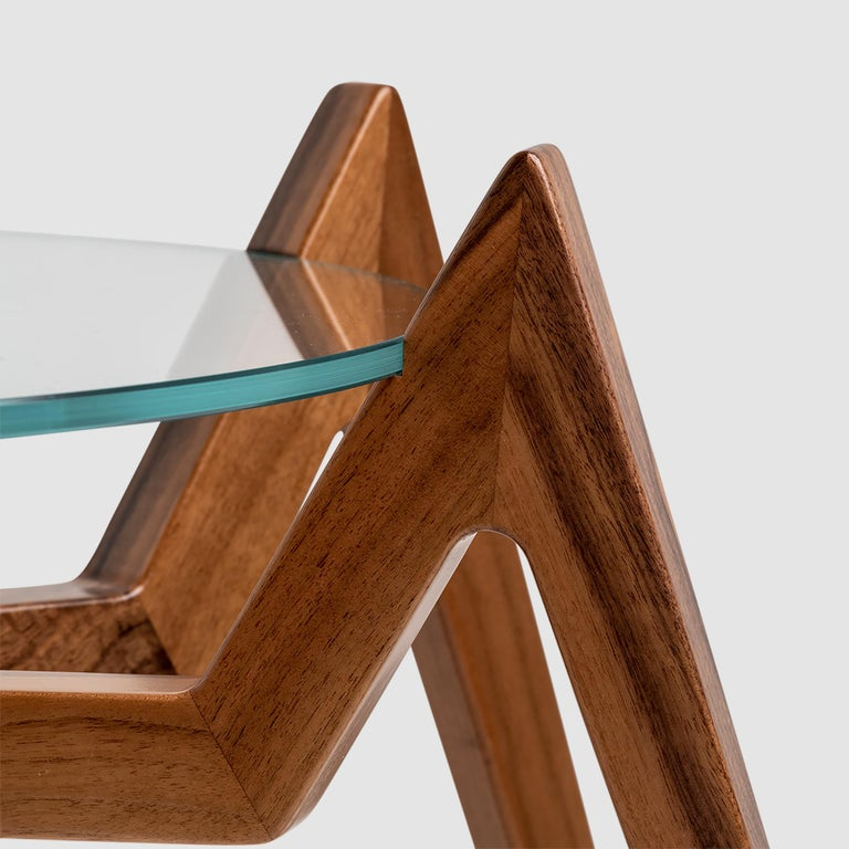 Aracne Coffee Table, Walnut In New Condition For Sale In Vicenza, IT