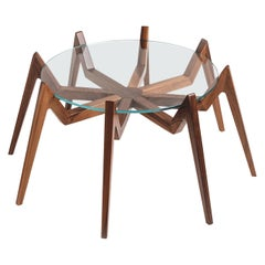 Aracne Coffee Table, Walnut