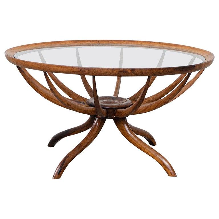 """Aranha"" Coffee Table, by Giuseppe Scapinelli, Brazilian Mid-Century Modern For Sale"
