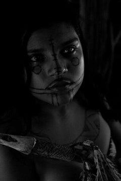 Caraja girl portrait, Brazil