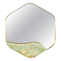 Aras Mirror Green Onyx by Marble Balloon