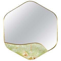 Aras Mirror Green Onyx by Marble Balloon