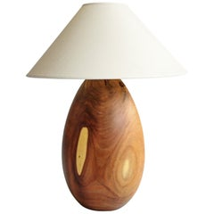 Árbol Table Lamp Collection, Cupesí Wood L5