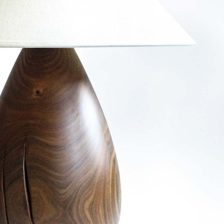 Bolivian Árbol Table Lamp Collection, Guayacan Wood L1 For Sale
