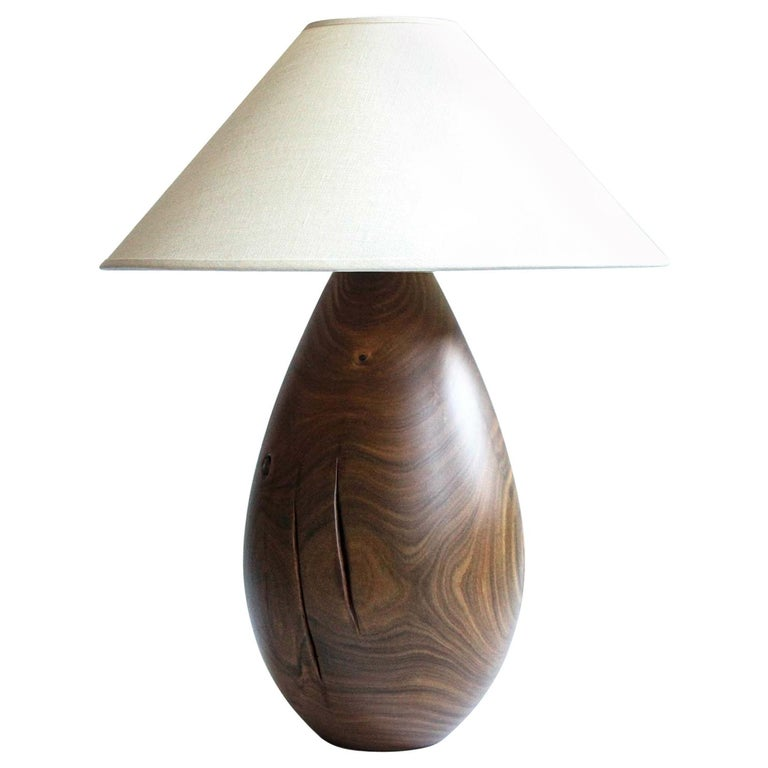 Árbol Table Lamp Collection, Guayacan Wood L1 For Sale