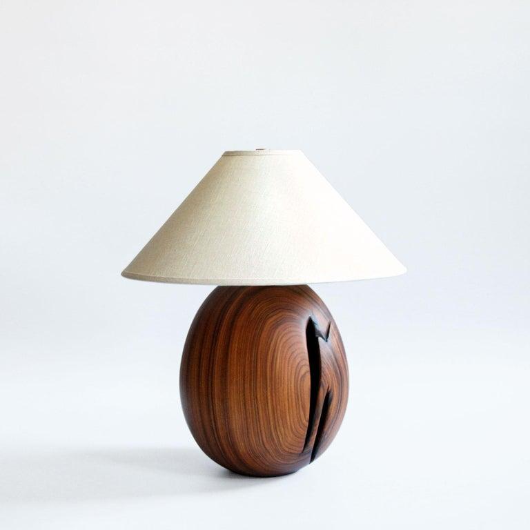 Modern Árbol Table Lamp Collection, Morado Wood SM1 For Sale