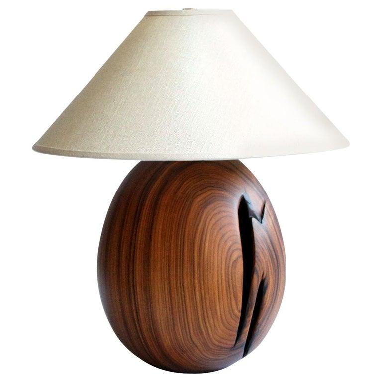 Árbol Table Lamp Collection, Morado Wood SM1 For Sale