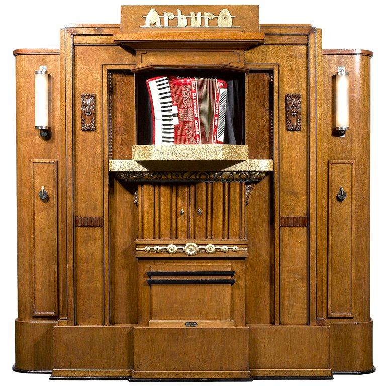 Arburo Orchestrion Organ by Bursens and Roels For Sale