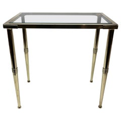 Arbus Style Brass and Glass Table