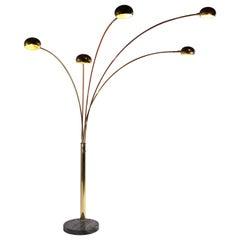 Arc Floor Lamp Att. to Guzzini