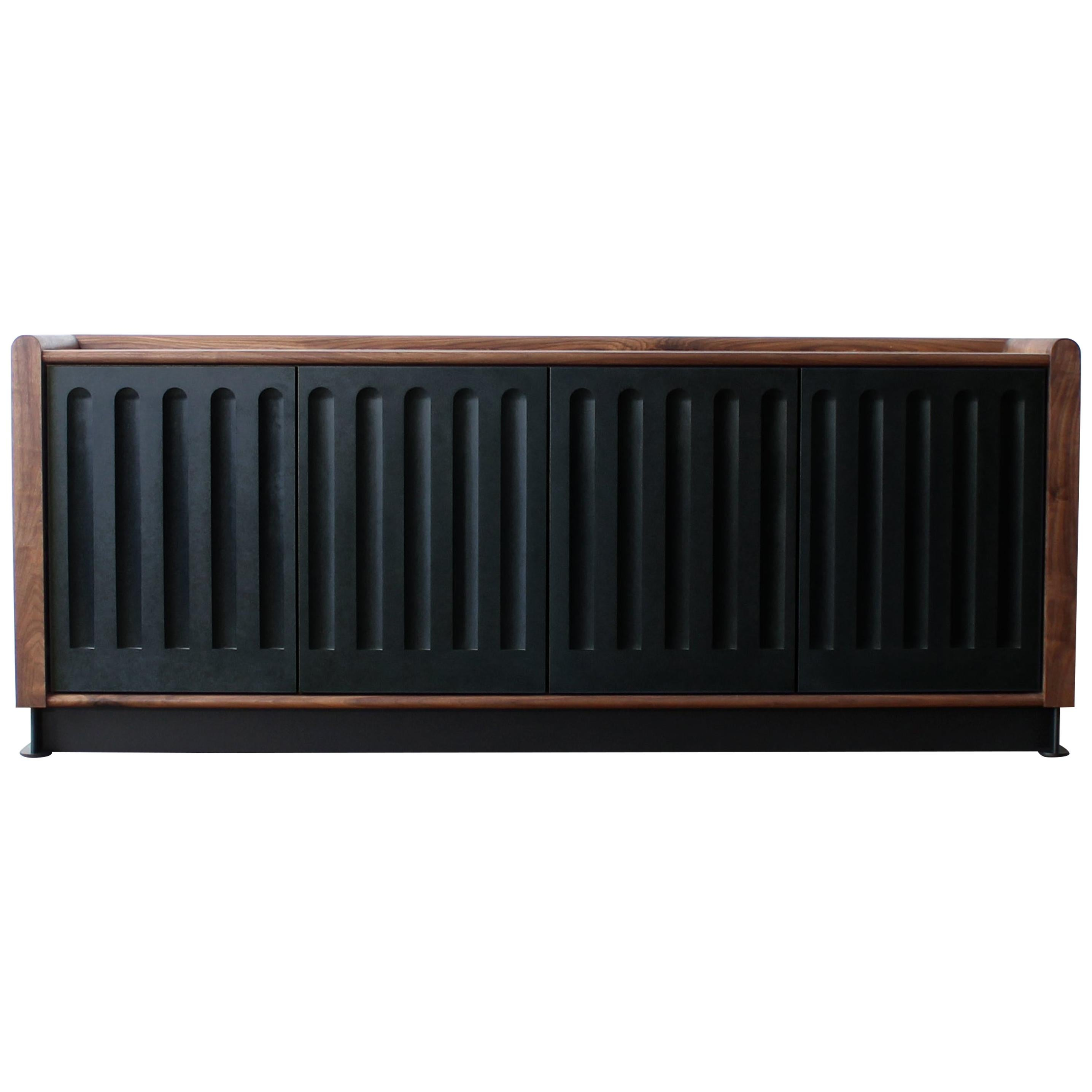 Arcade Modern Media Console, Sideboard, or Credenza by Crump and Kwash