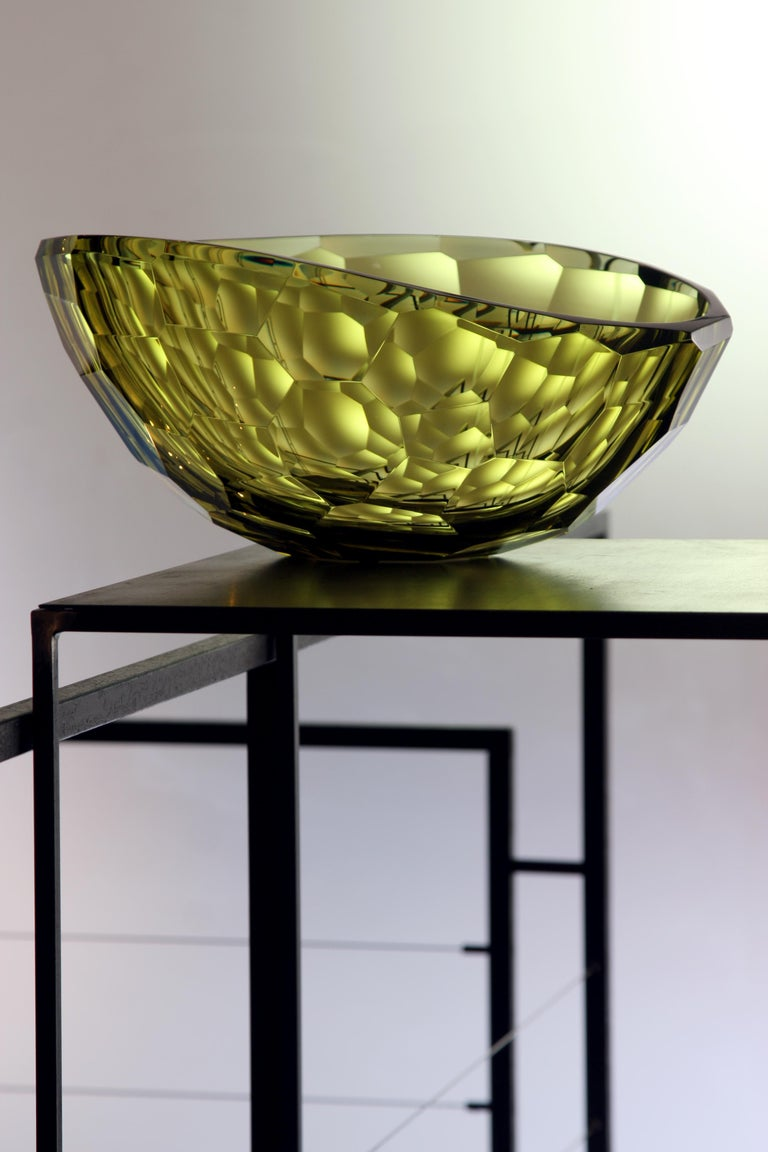 Arcade Murano Art Glass Bowl