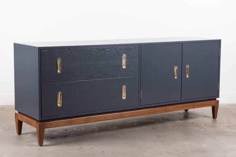Oak Arcadia Cabinet by Lawson-Fenning For Sale