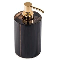 Arcahorn Altea Soap Dispenser in Horn & Macassar Ebony by Filippo Dini