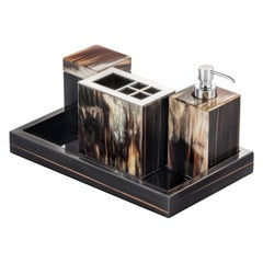 Arcahorn Iris Tray in Wood by Filippo Dini