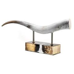 Arcahorn Laguna Horn Sculpture by A. Andreucci