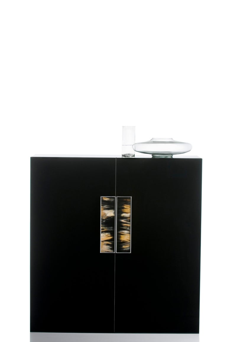 Modern Arcahorn Romolo 2-Door Cabinet in Wood by Filippo Dini For Sale