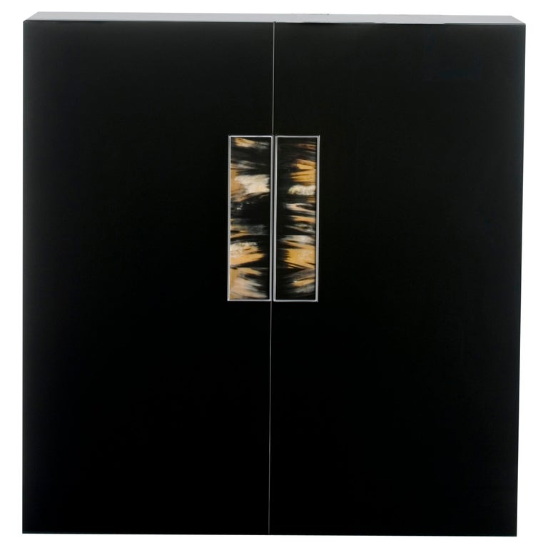 Arcahorn Romolo 2-Door Cabinet in Wood by Filippo Dini For Sale
