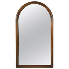 Arch Top Walnut Mirror, circa 1920