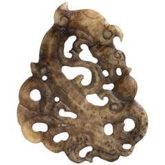 Archaic Jade Pendant, China, Early 20th Century