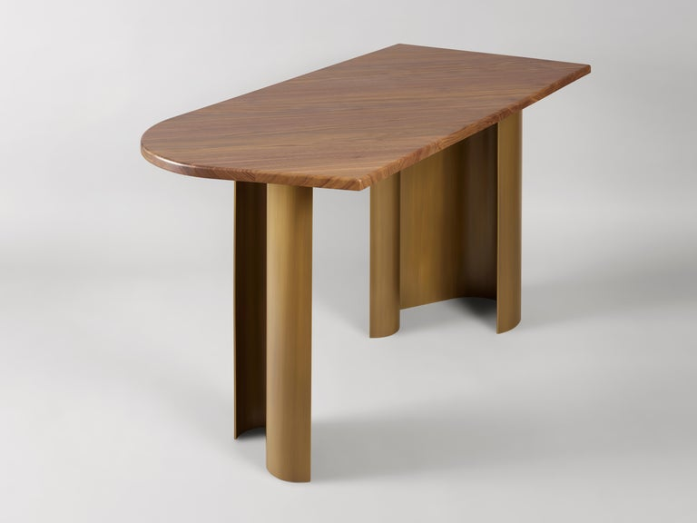 Patinated 'Arche' Desk by Charles Kalpakian For Sale