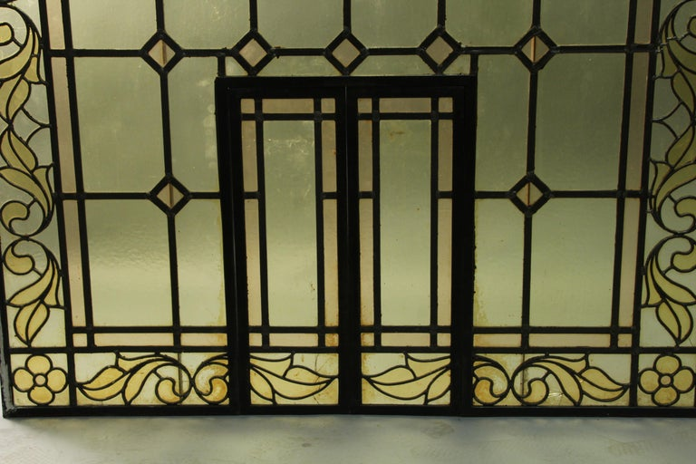1920s arched window salvaged. Measures: 53.5