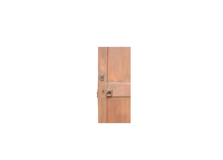 Arched Oak Door, circa 1900 In Fair Condition For Sale In Wormelow, Herefordshire