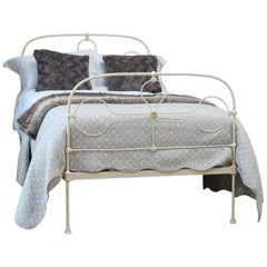 Arched Small Double Bed in Cream