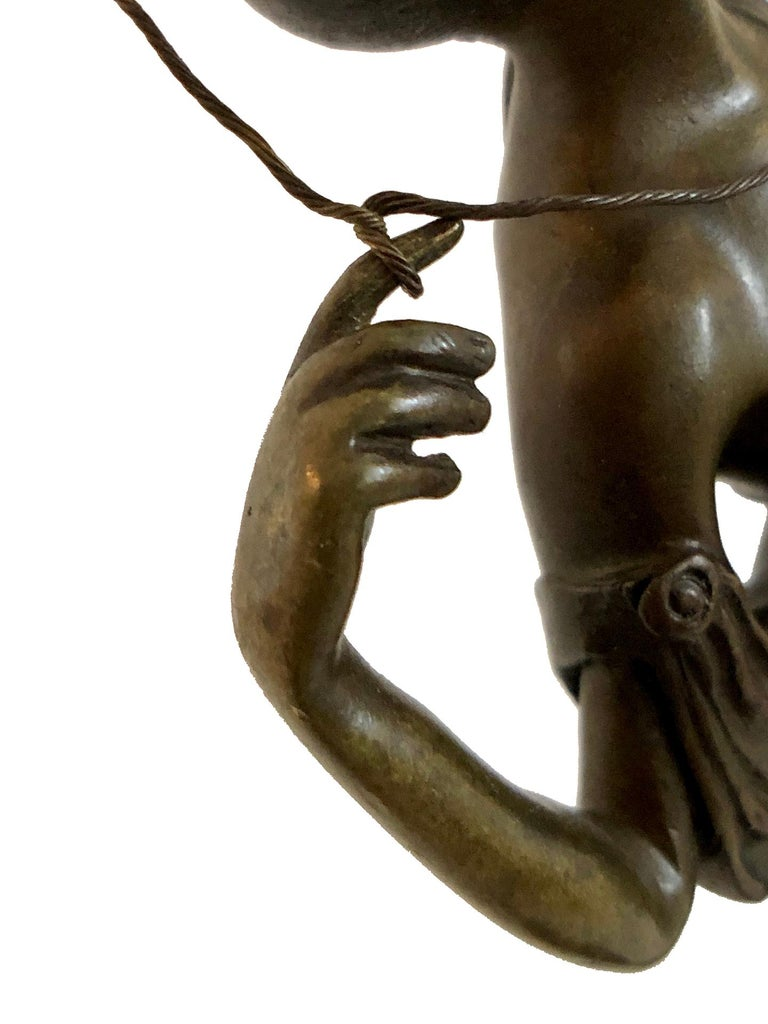 Archer Sculpture in Bronze Attributed to Pierre Le Faguays, French Art Deco For Sale 5