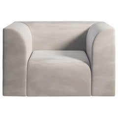 ARCHI 1 Seat Contemporary armchair in Fabric by Artefatto Design Studio