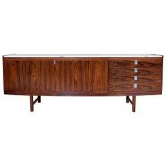 Archie Shine Robert Heritage Marble Brazilian Rosewood Sideboard
