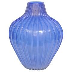 Archimede Seguso, Artistic Blue Murano Glass, circa 1950