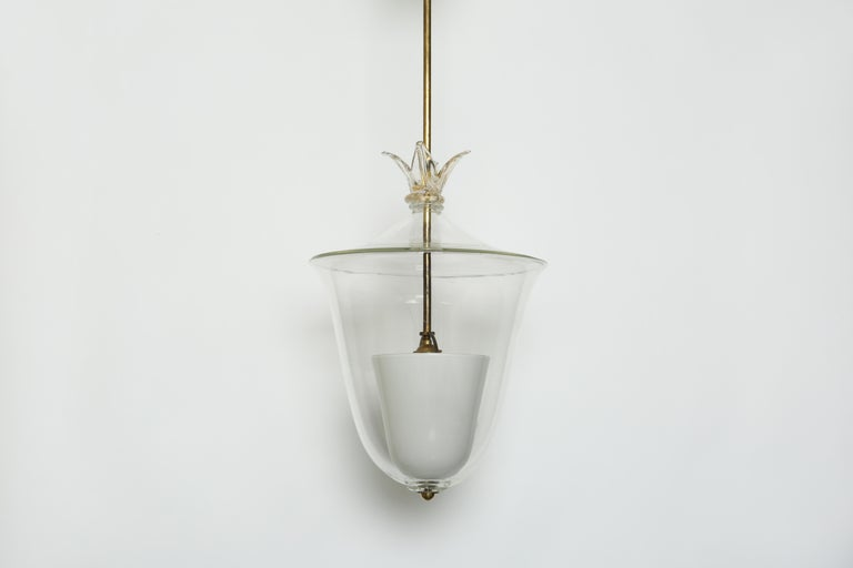 Archimede Seguso ceiling pendant.