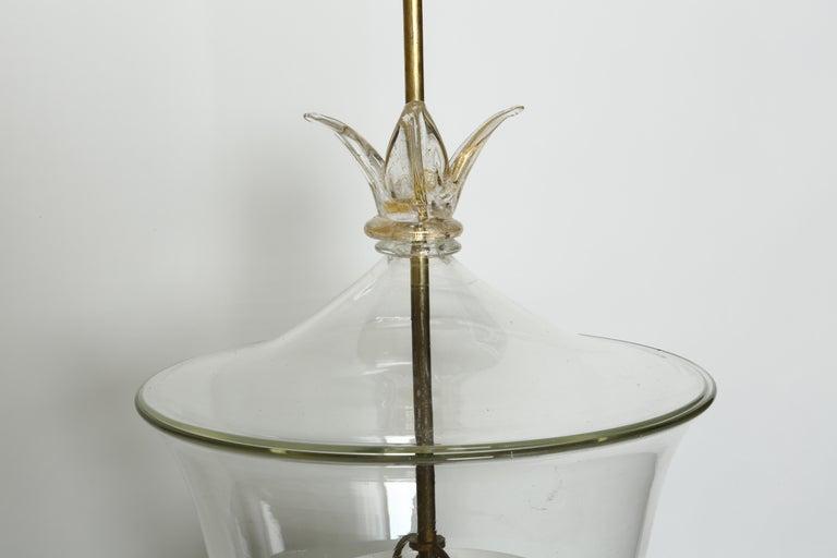 Italian Archimede Seguso Ceiling Pendant For Sale
