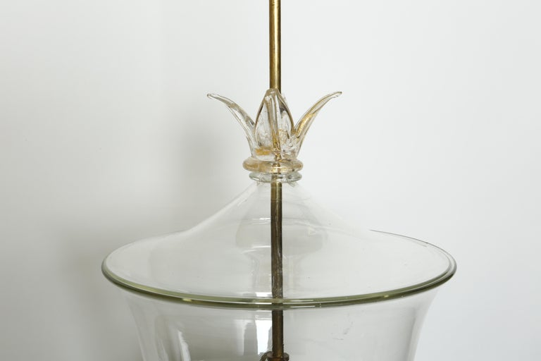 Mid-20th Century Archimede Seguso Ceiling Pendant For Sale