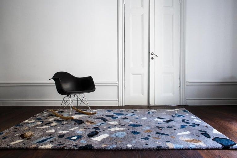 Archipelago, Wolle Shaggy Berber Teppich im skandinavischen Design 2