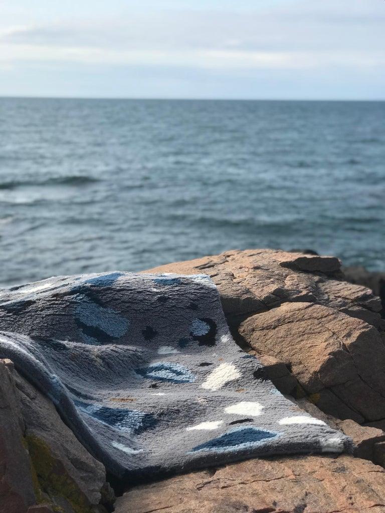 Archipelago, Wolle Shaggy Berber Teppich im skandinavischen Design 3