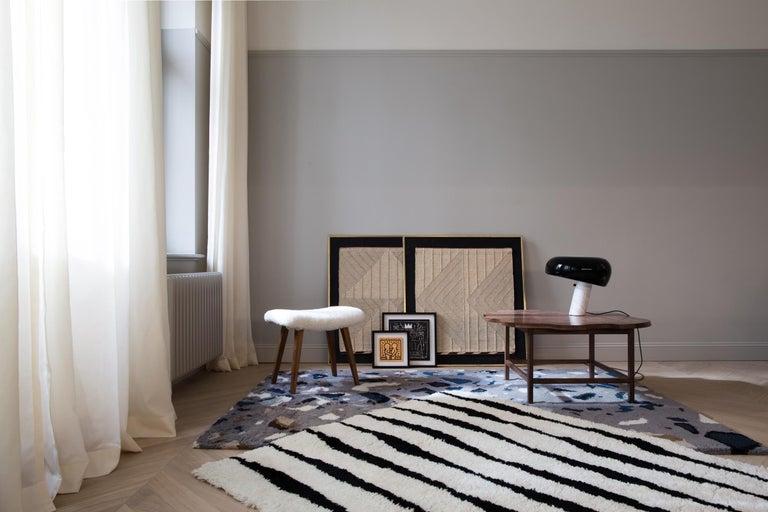 Archipelago, Wolle Shaggy Berber Teppich im skandinavischen Design 4