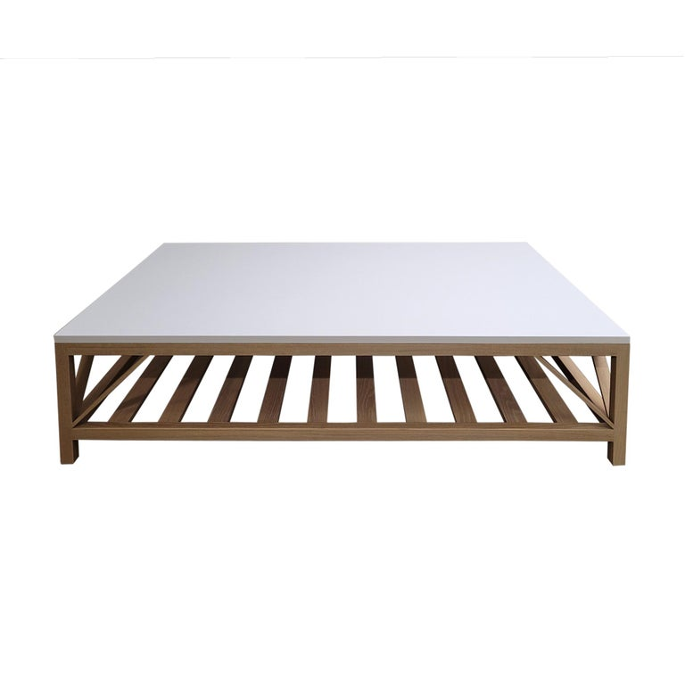 Modern Architect Coffee Table For Sale