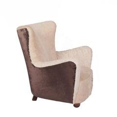 Architect Design 1940s Danish Easy Chair