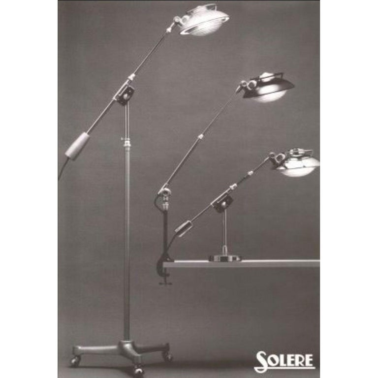Architect Floor Light by Ferdinand Solère for SOLR No. 219R In Good Condition For Sale In Amsterdam, NL