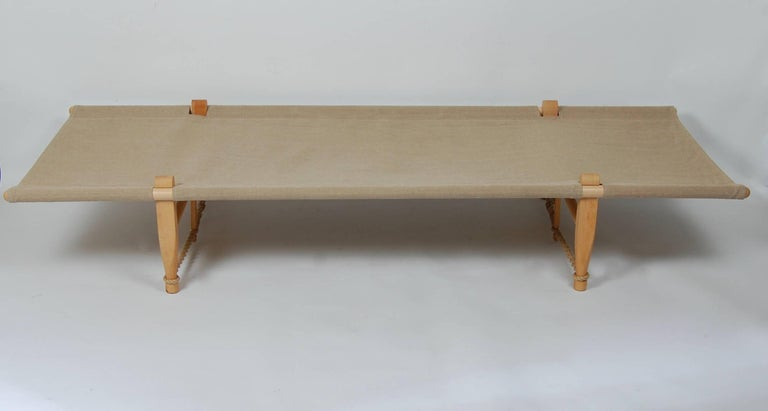 Scandinavian Modern Architect Ole Gjerlov Knudsen Safarn Daybed or Cot, Danish Design 1962 For Sale