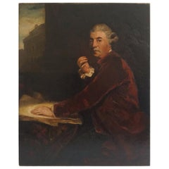 Architect William Chambers Portrait after Joshua Reynolds, circa 1800