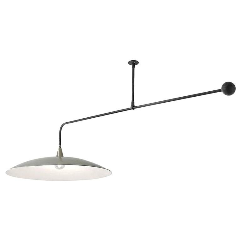 Architects Balance Lamp with Shade For Sale