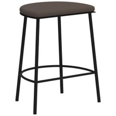 Architect's Sketch 021 Stool H50 Natural Canvas / Black