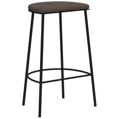 Architect's Sketch 021 Stool H65 Natural Canvas / Black