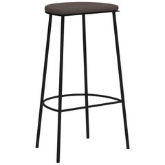 Architect's Sketch 021 Stool H76 Natural Canvas / Black