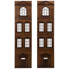 Architectural Building Facade Leather Clad Decorative Doors
