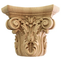 Architectural Carved Capital for Interior