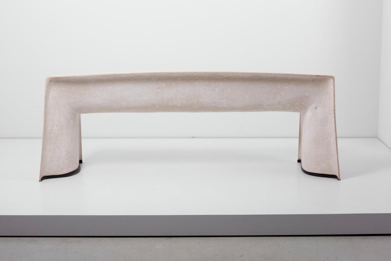 Architectural Concrete Bench by Martin Kleppe, Germany, circa 2011 For Sale 5